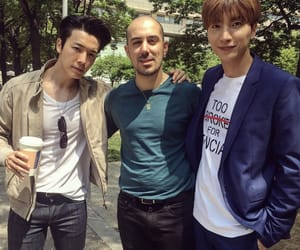 donghae, Leeteuk, and superjunior image