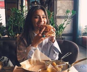 food, girl, and tumblr image