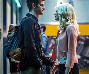 couple, emma stone, and peter parker image