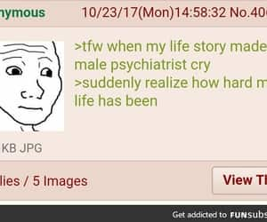 anon, funny, and lol image