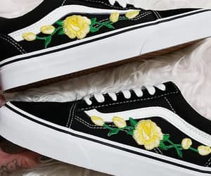 beautiful, black, and vans image