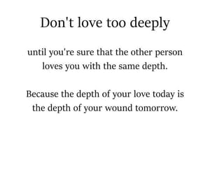 love, message, and quotes image