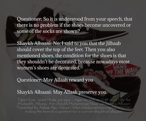 faith, hijab, and quote image