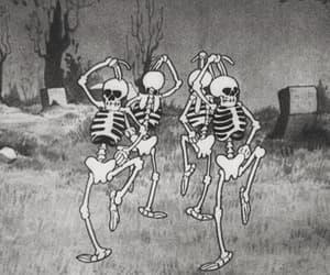 gif, skeleton, and dance image