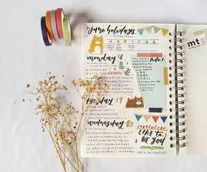 art, journal, and plan image