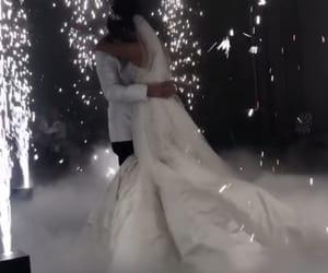 bridal, bride, and romance image