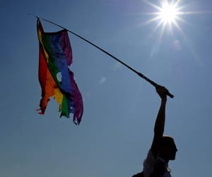 gay rights, lgbt rights, and rainbow flag image