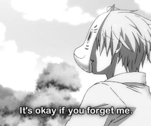anime, sad, and hotarubi no mori e image