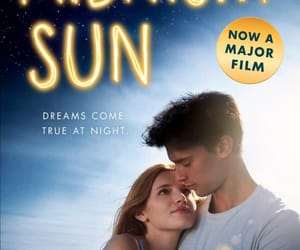 midnight sun and book image