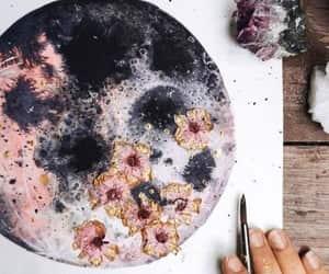 amazing, black, and flowers image