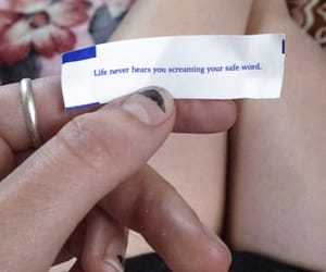 funny, safe word, and fortune cookie message image