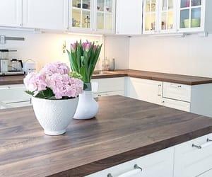 design, flower, and interior image