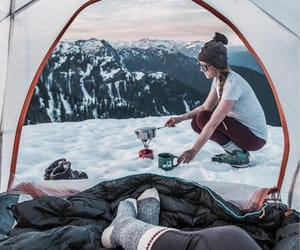 couple, wanderlust, and goals image