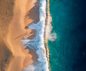 beach, colors, and photos image