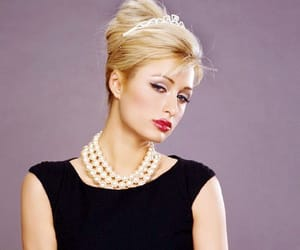 Breakfast at Tiffany's, paris hilton, and holly golightly image