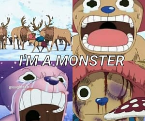 anime, chopper, and cry image