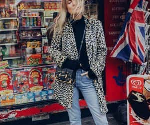 animal print, fashion, and jeans image