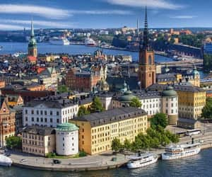article, city, and stockholm image