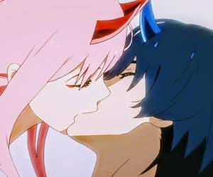 anime, hiro, and zero two image