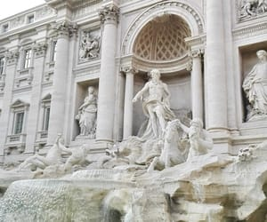 italy, rome, and statue image
