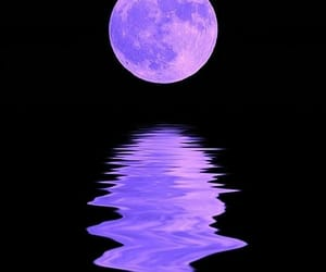 moon, purple, and aesthetic image