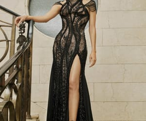 designer, dress, and haute couture image