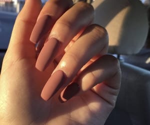 inspiration, matte, and nails image