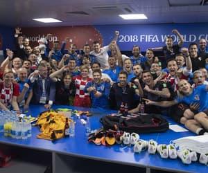 Croatia, football, and semifinals image