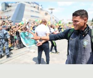 thiago silva and seleção brasileira image