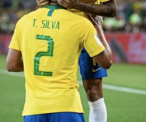 thiago silva, ♥, and seleção brasileira image