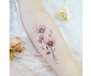 blossom, body art, and floral image
