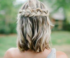 hairstyle, hair, and short hair image