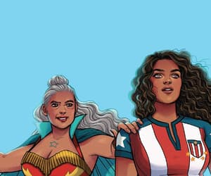 Marvel, Miss America, and america chavez image