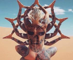belleza, tatuaje, and moda image
