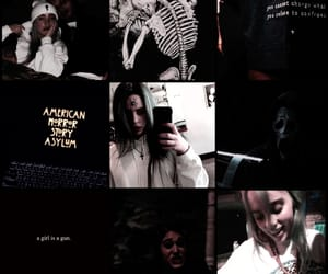 Collage, billie eilish, and black image