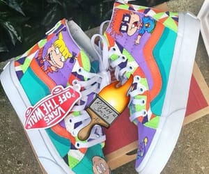vans, rugrats, and sneakers image