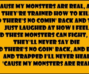 life, monsters, and music image