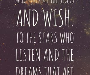 book, quote, and stars image