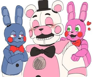 art, sister location, and funtime freddy image