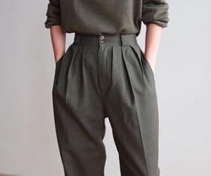 chic, moda, and tenue image