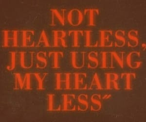 heart, heartless, and red image
