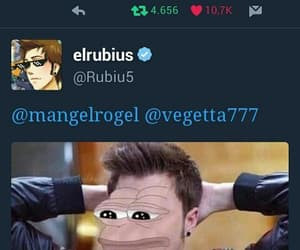 tweets, twitter, and rubius image