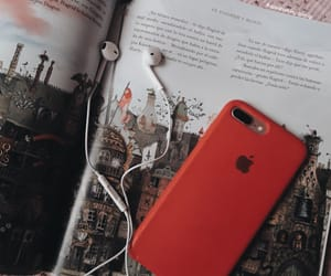 aesthetic, book, and earphones image
