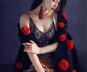beautiful, black, and china image