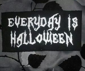 Halloween, black and white, and black image
