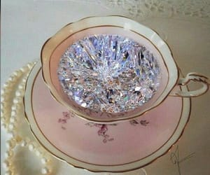 diamond, pink, and chic image