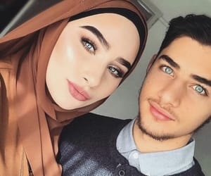 couples, islam, and fashion image