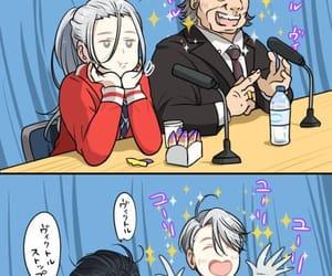 anime, yuri on ice, and kawaii image