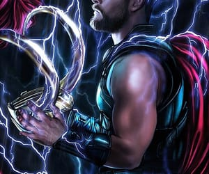 fan art, Marvel, and thor image