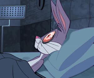 bugs bunny, gif, and tired image